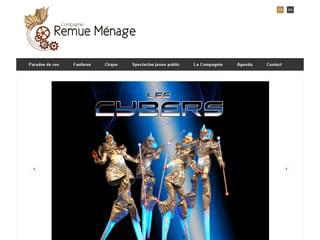 http://www.remue-menage.net/ est réalisé avec Cms Made Simple