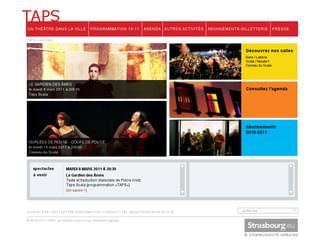 http://www.taps.strasbourg.eu est réalisé avec Cms Made Simple