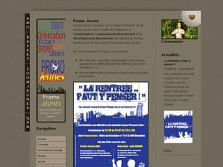 http://www.promojeunes.be/ est réalisé avec Cms Made Simple