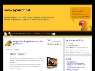 http://www.i-parrot.net est réalisé avec Cms Made Simple