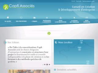 http://www.capfiassocies.eu/ est réalisé avec Cms Made Simple