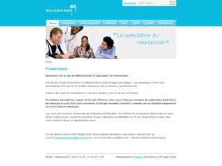http://www.willemsfonds.com/fr est réalisé avec Cms Made Simple