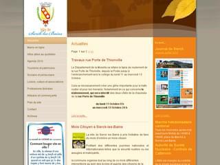 http://www.mairie-sierck.fr/ est réalisé avec Cms Made Simple