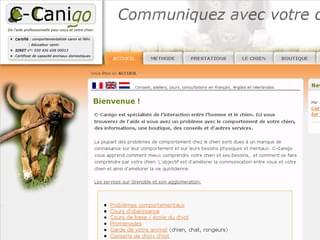 http://www.c-canigo.fr est réalisé avec Cms Made Simple