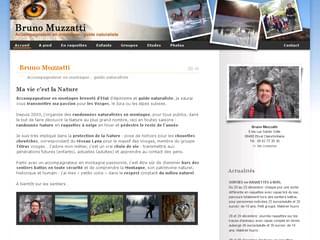 http://www.brunomuzzatti.com/ est réalisé avec Cms Made Simple