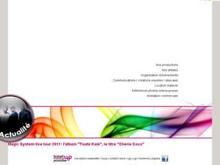 http://www.bobellsparadise.com est réalisé avec Cms Made Simple