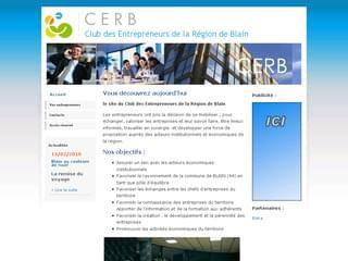 http://www.cerb44.com/ est réalisé avec Cms Made Simple
