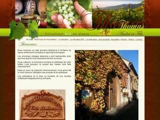 http://www.thomas-vin-bio-alsace.com est réalisé avec Cms Made Simple