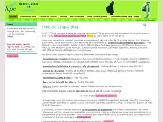 http://fcpe.largue.free.fr/ est réalisé avec Cms Made Simple