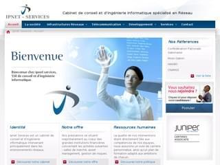 http://www.ipnetservices.net est réalisé avec Cms Made Simple