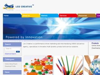 http://www.leo-creative.com/ est réalisé avec Cms Made Simple