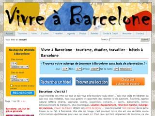 http://www.vivreabarcelone.com/ est réalisé avec Cms Made Simple
