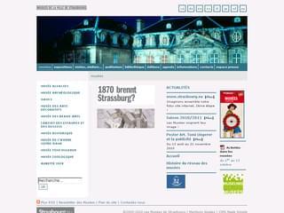 http://www.musees-strasbourg.org/ est réalisé avec Cms Made Simple
