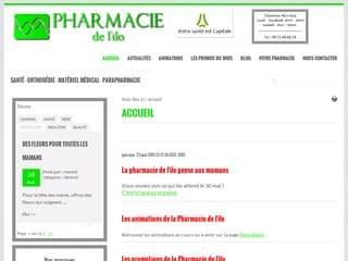 http://www.pharmaciedelilo.fr est réalisé avec Cms Made Simple