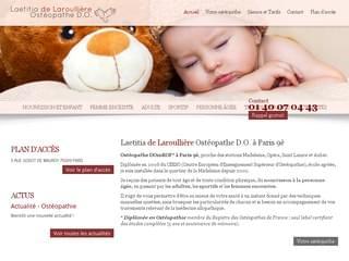SANTé : Ostéopathe adulte à Paris 9