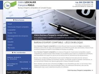 FISCALITé : Expert comptable Liège