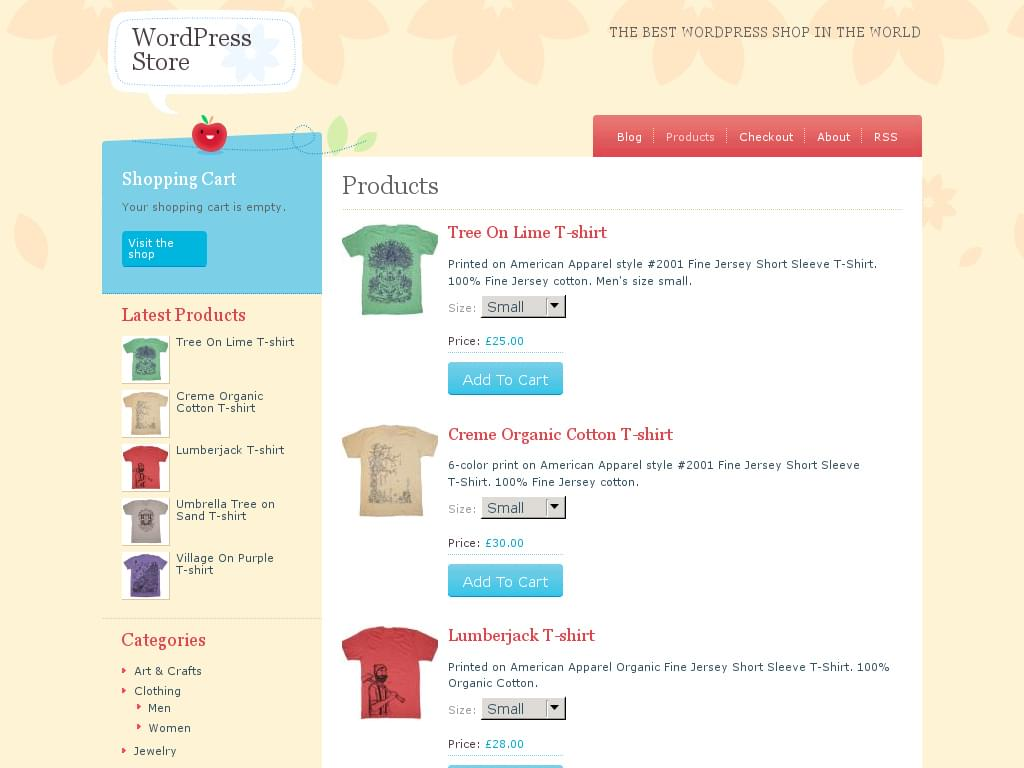 wordpress themes ecommerce gratuit