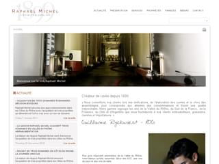 http://www.raphael-michel.com/ est réalisé avec Cms Made Simple