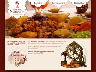 http://www.restaurant-indien-neelkanth.fr/ est réalisé avec Cms Made Simple