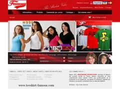 VêTEMENTS-MODE : Famous Tee shirt, grossiste en tee shirt vierge,