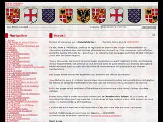 http://armorial.du.sud.free.fr/ est réalisé avec Cms Made Simple