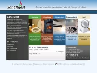 http://www.sanergest.com est réalisé avec Cms Made Simple