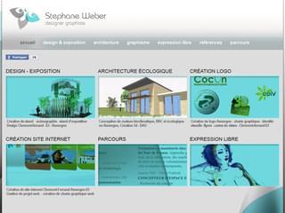 http://www.weber-steph.fr/ est réalisé avec Cms Made Simple