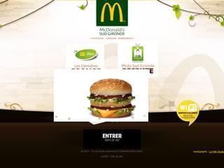 http://www.mcdonalds-sud-gironde.fr est réalisé avec Cms Made Simple