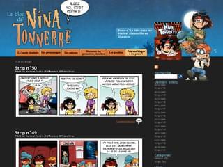 http://www.ninatonnerre.com/ est réalisé avec Cms Made Simple