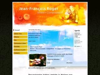 http://www.jean-francois-roger.fr/ est réalisé avec Cms Made Simple