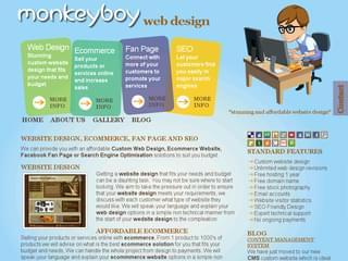 http://www.monkeyboywebdesign.co.uk est réalisé avec Cms Made Simple