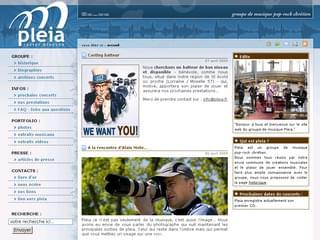 http://www.pleia.fr/ est réalisé avec Cms Made Simple