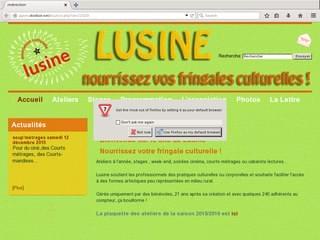 http://www.lusine-marcillac-vallon.com/ est réalisé avec Cms Made Simple