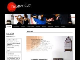 http://linattendue.com est réalisé avec Cms Made Simple