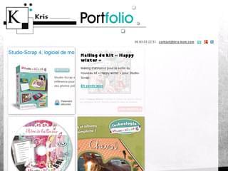 http://www.kris-kom.com est réalisé avec Cms Made Simple