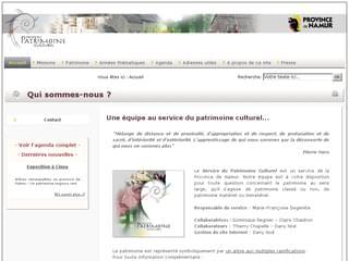http://www.patrimoineculturel.org/ est réalisé avec Cms Made Simple
