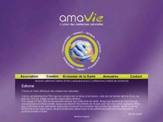 http://www.amavie.org est réalisé avec Cms Made Simple