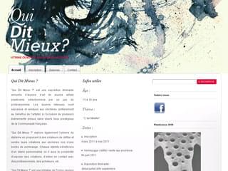 http://www.quiditmieux.be est réalisé avec Cms Made Simple