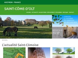 http://www.saint-come-olt.com est réalisé avec Cms Made Simple