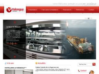 http://www.valenguy.com est réalisé avec Cms Made Simple