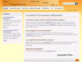 http://www.jacqueline-fetis.fr/ est réalisé avec Cms Made Simple
