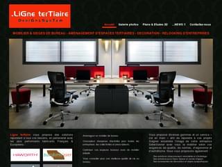 http://www.lignetertiaire.fr/ est réalisé avec Cms Made Simple