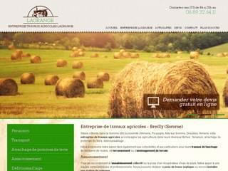 MAGASINS : Entreprise agricole à Breilly