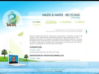 http://www.2w-recycling.fr/site/ est réalisé avec Cms Made Simple