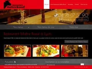 RESTAURANT : Restaurant Maître Bœuf à Lyon