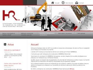 http://hemmerle-construction.fr est réalisé avec Cms Made Simple