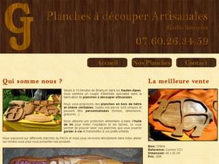 http://planchesadecouper.free.fr est réalisé avec Cms Made Simple