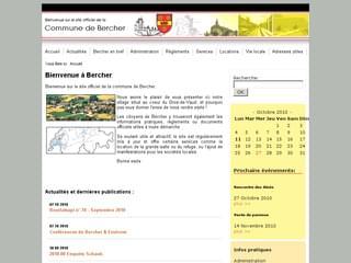 http://www.bercher-vd.ch/cms/ est réalisé avec Cms Made Simple