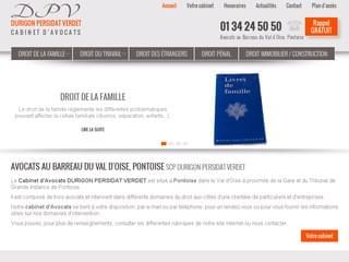 CABINET AVOCATS : Avocat droit du travail Pontoise