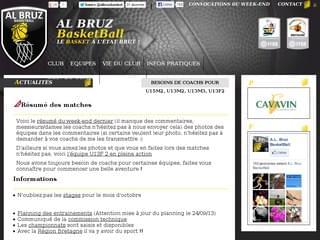 http://www.albruzbasket.fr/ est réalisé avec Cms Made Simple